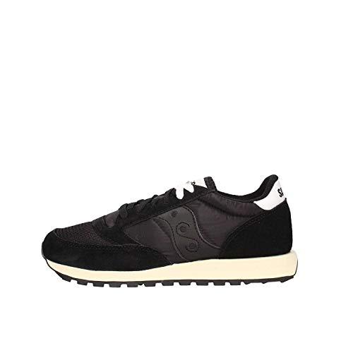 Saucony Jazz Original Vintage, Sneakers Unisex-Bambini, Black Black 9, 23 EU