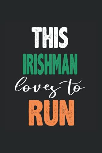 Irish Runner - El ciclista irlandés: Din A5 Correr portátil de regalo computadora para funcionar Irlanda irlandés con 120 páginas