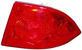 CarLights360: Fits 2006-2011 BUICK LUCERNE Tail Light Assembly Passenger Side w/Bulbs - Replacement for GM2819177