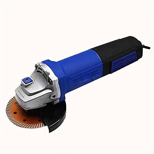 ZTIAN Máquina Pulidora De Amoladora De Ángulo Enchufable, Diseño Profesional De Motor, Potencia Máxima De 1200W, Potente Salida De Aire De Refrigeración, Diseño De Interruptor-760w