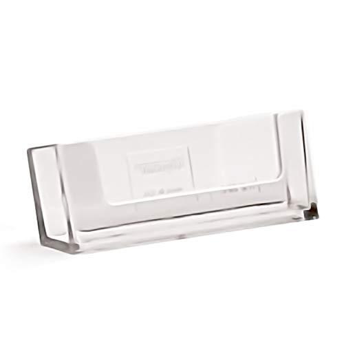 adatto anche per esterni taymar/® Porta biglietti da visita con coperchio in formato orizzontale//resistente alle intemperie
