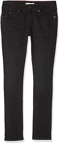 Tommy Hilfiger Mädchen Sophie Skinny COBST Jeans, Blau (Cove Black Stretch 911), 164 (Herstellergröße: 14)