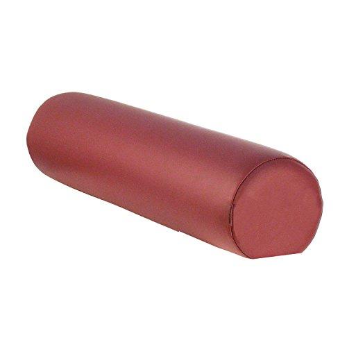 TAOline Knierolle 3/4 rund, burgund-rot, Gr. M, Höhe 13 cm, Lagerungshilfe klein, Lagerungsrolle für Massage/Therapie