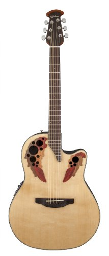 Ovation CE44-4 Acoustic-Electric Guitar, Natural