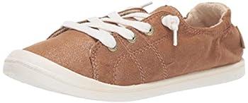 Roxy Women s Bayshore Slip On Sneaker Shoe Bronze 6 M US