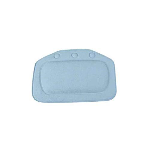 UKtrade - Almohada de baño con Ventosa Suave y cómoda para el Cuello de la bañera o el baño (32 x 21 cm)