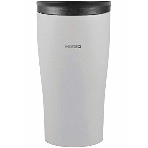 HARIO(ハリオ)タンブラーグレー300mlHARIOフタ付き保温タンブラーSTF-300-GR