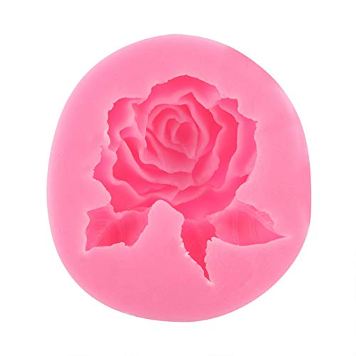 Cadeau de Juillet Moule en silicone rose, forme de gâteau en silicone, fondant au chocolat, moules à chocolat, outil de décoration, accessoire de cuisson