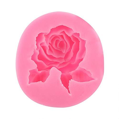 【Cadeau de Noël】Moule en silicone rose, forme de gâteau en silicone, fondant au chocolat, moules à chocolat, outil de décoration, accessoire de cuisson