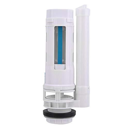 Fdit Válvula de Entrada de Inodoro G1/2, válvula de Drenaje de Inodoro Dividida para Ahorrar Agua, válvulas de Descarga de Inodoro de Dos Botones, Accesorios de baño(25cm)
