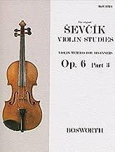 Sevcik Violin Studies - Opus 6, Part 3 Violin Method for Beginners