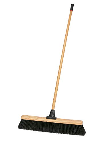 Harper 1435P1 Outdoor Heavy Duty Wet/Dry Hardwood 24 in. Push Broom