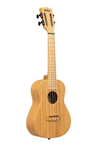 Kala KA-BMB-C Ukelele de concierto de bambú sólido