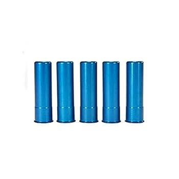 A-ZOOM Shotgun Metal Snap Caps 20 Gauge Blue Package of 5