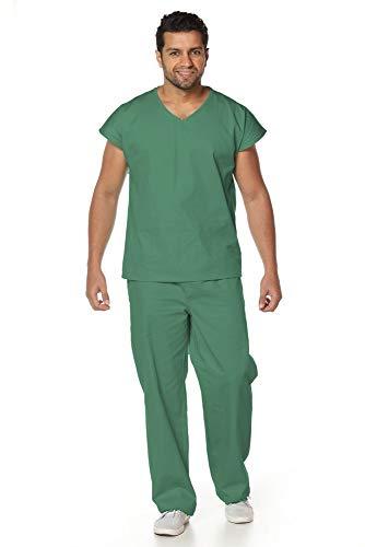 Pijama cirúrgico em Algodão Verde Oliva