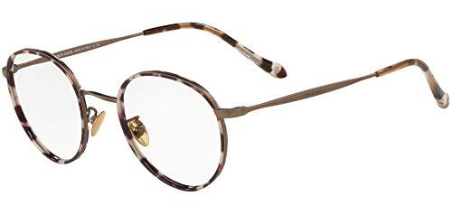 Armani GIORGIO 0AR5083J Monturas de gafas, Spotted Havana/Matte Bronze, 50 para Hombre