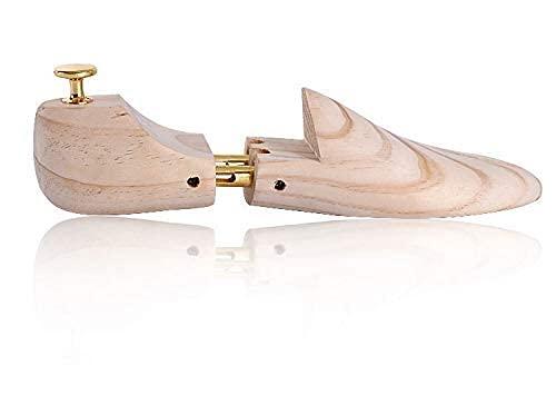 DSDD Estirador de Zapatos Árboles de Zapatos para Hombres y Mujeres Árbol de Zapatos de Madera de Pino de Nueva Zelanda Ajustable de Doble Tubo