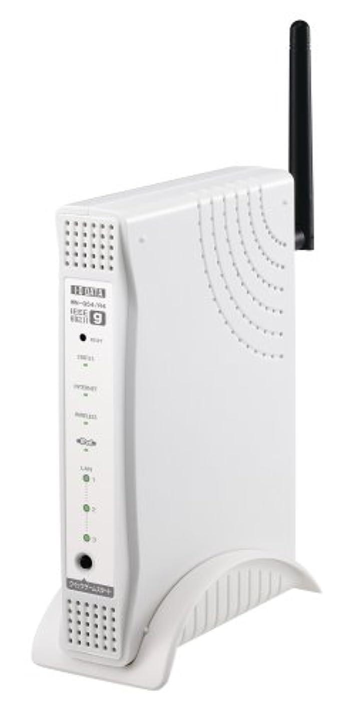 最後の封建スプリットI-O DATA IEEE802.11g/b 無線LANルーター PCカードセット WN-G54/R4-S