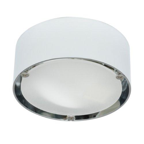 Puk One Wand-/Deckenleuchte chrom glänzend Glas