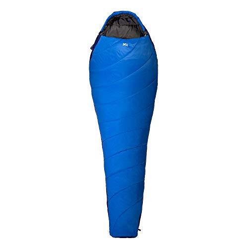 MILLET Unisex-Adult Baikal 750 Long Mumienschlafsack, Sky Diver/Ultra Blue, G