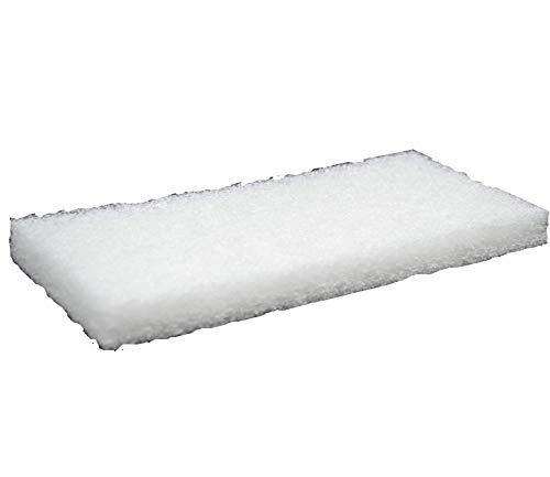 Marbec -TAMPONE Bianco - Nessuna Aggresività   per la Pulizia e lucidatura dei Pavimenti e Rivestimenti