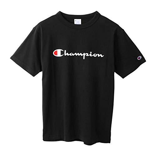 Champion Youth Classic Jersey Script T-Shirt Printing Logo Tee for Teen Boys Girls Black
