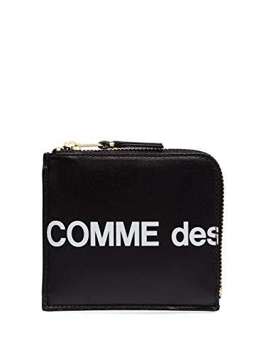 Luxury Fashion | Comme Des Garçons Womens SA3100HL1 Black Wallet | Fall Winter 19