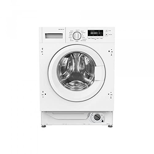 Amica EWA 34657-1 W Einbau-Waschmaschine, 1400 U/Min, Energieeffizienzklasse B