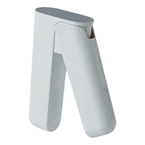 LTINN Secadora de Zapatos portátil, Ajuste doméstico de Tres velocidades de Secado rápido, Entrada de Aire con Rejilla, Retardante de Llama y Resistente a Altas temperaturas