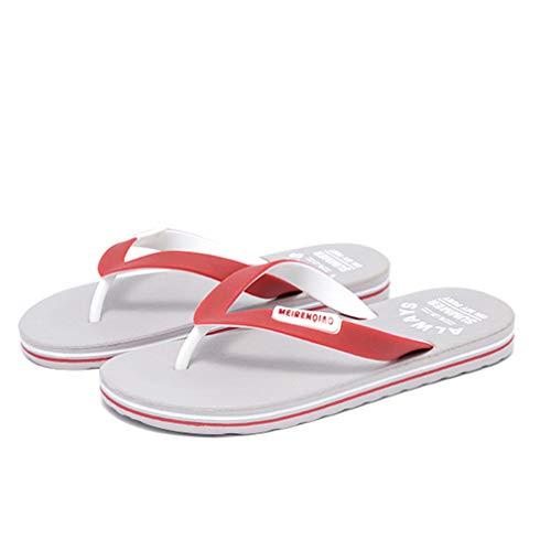 HRFHLHY Heren flip-flops strand slippers mannen zomer EVA sandalen casual clip voet slip antislip