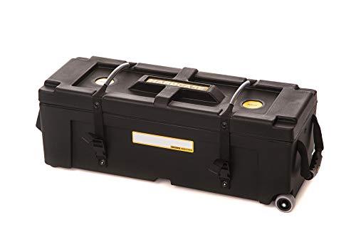Hardcase Hardware Case with Wheels (40x12x12in, Black)