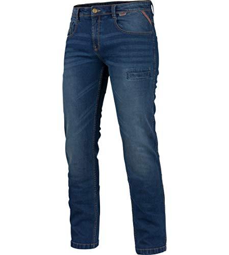 WÜRTH MODYF Arbeitsjeans Stretch X blau: Die Bequeme Allwetter Arbeits-Jeanshose ist in der Größe 52 erhältlich. STYLISCH, MODERN, ZEITLOS!