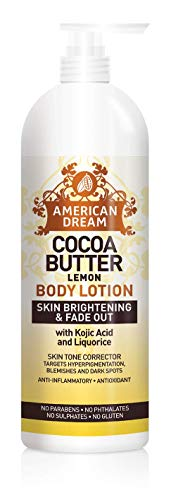 American Dream Kakaobutter Zitrone Körperlotion 16oz
