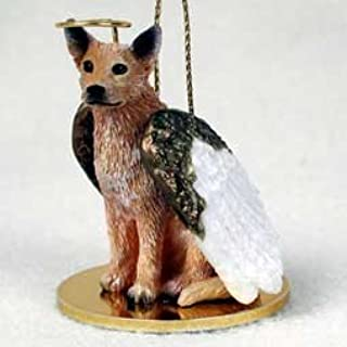 Australian Cattle Dog Angel Ornament - Red by Conversation Concepts