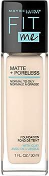 Maybelline Fit Me Matte+Poreless Liquid Foundation 1 Fl. Oz