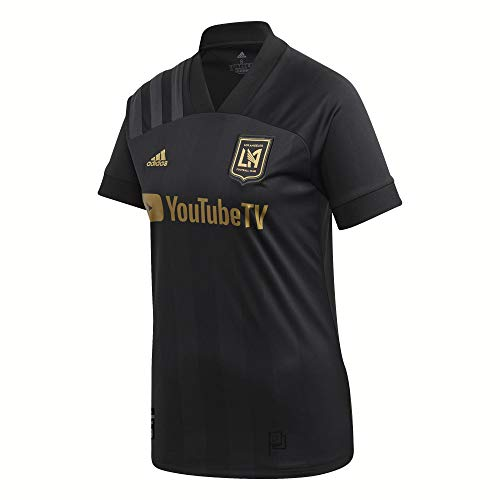 adidas 2020-21 LAFC Womens Home Jersey - Black XL