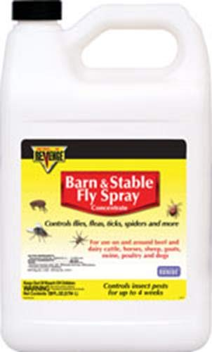 Bonide Products 46179 917443 Revenge Barn & Stable Fly Spray Concentrate, 1 Gallon