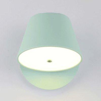 suhang Applique Lampe Murale Moderne Chambre Lit Lecture tourner les Smart Variateur de pépinière Lampes LED Light Green Double Shade Light