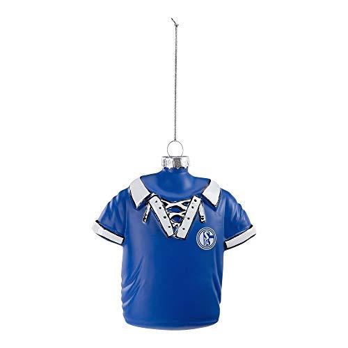 FC Schalke 04 Fanartikel Christbaumkugel Retro-Trikot
