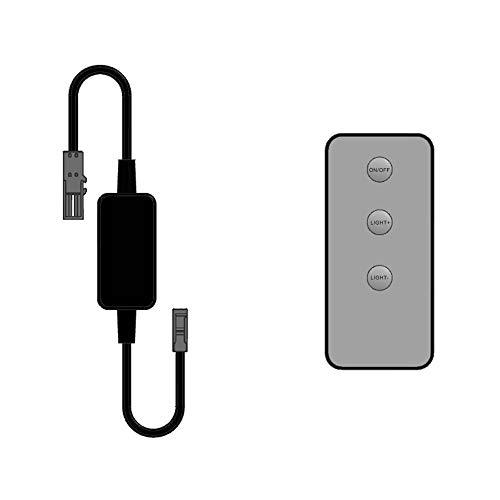 LED Funk-Controller Set Fernbedienung 12-24V 36-72W dimmbar kalb
