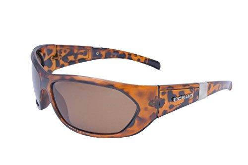 Ocean Sunglasses - Hunstanton - lunettes de soleil polarisées - Monture : Marron - Verres : Fumée (18040.2)
