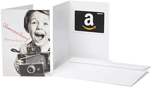 Amazon.de Geschenkkarte in Grußkarte (Überraschung)