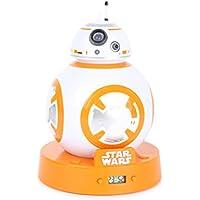 Joy Toy Star Wars - Reloj Despertador Digital con LCD y proyección BB-8