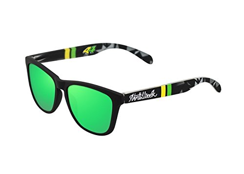 NORTHWEEK Espargaro Gafas de sol, Black/Yellow, 45 Unisex