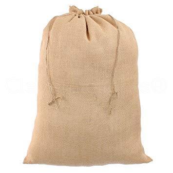 Jutesack Sacchi di Iuta 100 x 60 cm ✓ Set 3 ✓ 50 kg Portata ✓ Resistente | Sacco da Giardino | Patate | Cipolla Sack | Pianta Protezione | Protezione antigelo