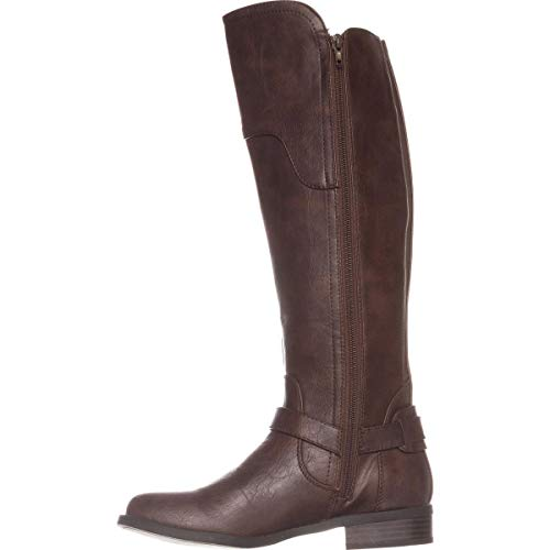 G by Guess Womens Harson Faux Leather Over-The-Knee Boots Brown 6 Medium (B,M)