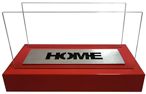 Home tafel - ethanol - open haard tafelhaard bio-ethanol haard **NIEUW** 36 x 22 x 18 rood