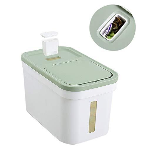 MAJOZ0 10 KG Großer Vorratsbehälter für Lebensmittel Mehlbehälter Reisspender Luftdichter Behälter Großer Vorratsbehälter für Lebensmittel