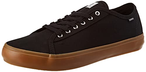 Element Men's Pitch Shoe, Zapatilla Hombre, Negro Black Gum Red, 42.5 EU