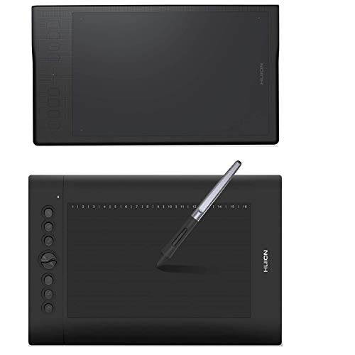 HUION Inspiroy Q11K Wireless Graphic Drawing Tablet and HUION H610PRO V2 Graphic Drawing Tablet